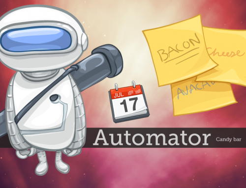 Of Automator, Candy Bar & Calendar